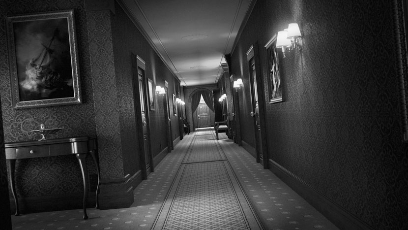 Hallway from The House Game